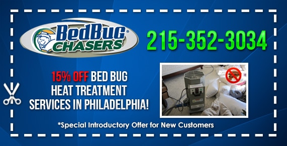 Bed Bugs in Huntingdon Valley PA with Our Bed Bug Heat Treatment Method! SPECIAL DEAL - 15% Off
